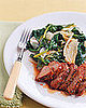 Fast & Easy Dinner: Honey-Glazed Pork With Wilted Greens