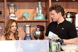 Ingrid Hoffman and Tyler Florence