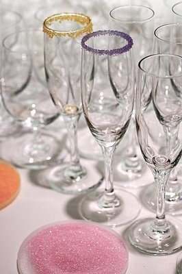 Simple Tip: Rim Champagne Flutes With Sugar