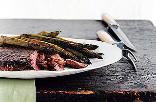 Fast & Easy Dinner: Grilled Glazed Steak and Asparagus