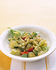 Romaine, Avocado, and Corn Salad