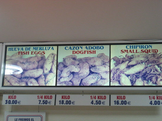 Fried Fish Counter