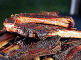 Hickory-Smoked Beef and Pork Ribs