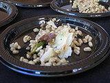 Pasta Pomodoro's free barley salad.