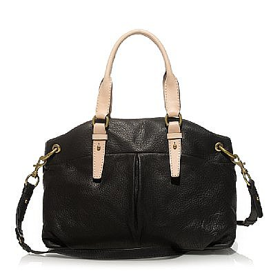 Leather gallery satchel ($298)) - J.Crew