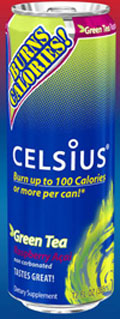 Celsius Calorie Burning Beverage