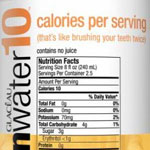 Vitamin Water 10 now with 25 calories