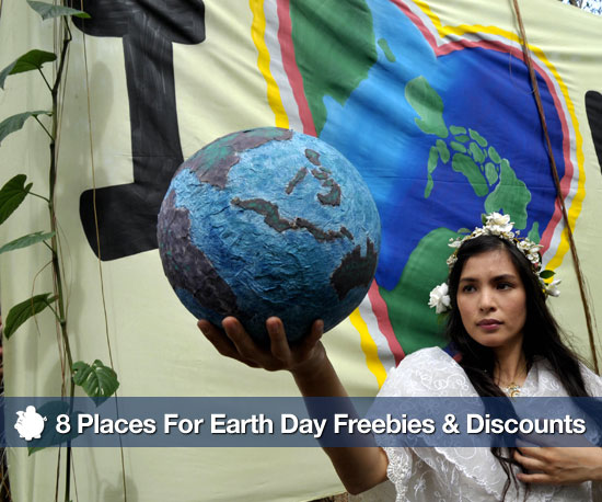 Where to Find Earth Day Freebies and Discounts