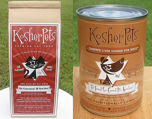 Pet Food That's Kosher For Passover