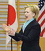 Hillary Clinton: Ohayou Japan, Oh No North Korea