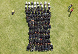 In Ireland, Guinness celebrates it's 250th year with a human shaped pint.