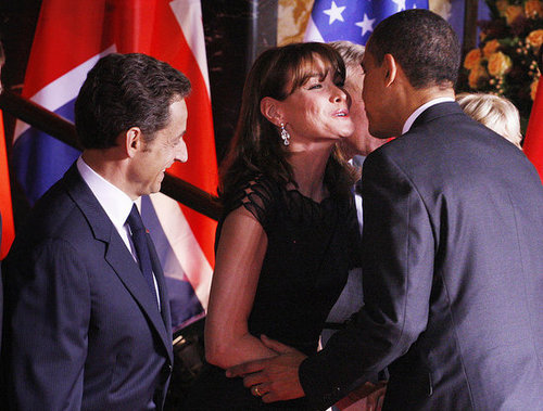 Week in Weird News: Sarkozy Tells Obama to Kiss Like French