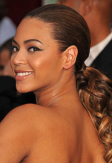 Beyoncé at Oscars 2009: Photo of Hair and Makeup