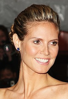 Heidi Klum's Hair and Makeup at the Met's Costume Institute Gala