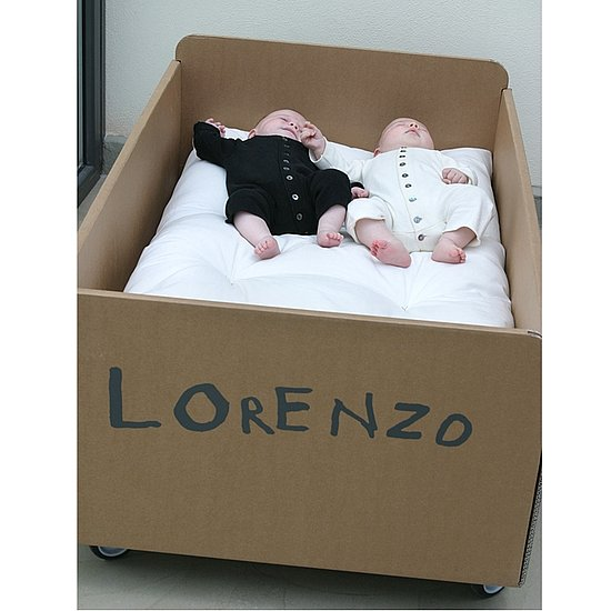 Customizable Cardboard Cot