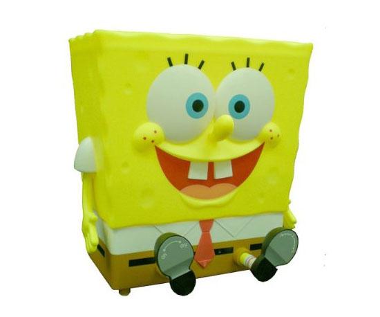 Smiling SpongeBob SquarePants