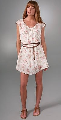 Joie Kenzie Belted Dress