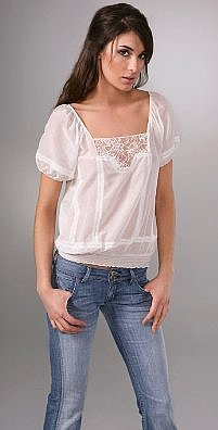 Joie Mya Short Sleeve Top