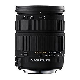 Sigma AF18-200mm f/3.5-6.3 DC Optical Stabilizer Lens