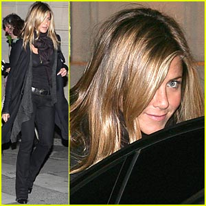Jennifer Aniston is La Stresa Sweet