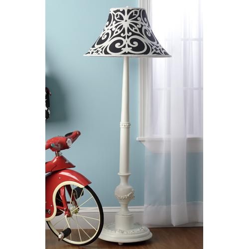 Damask Floor Lamp