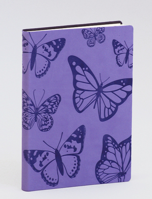 Versatility Leather Butterflies Journal