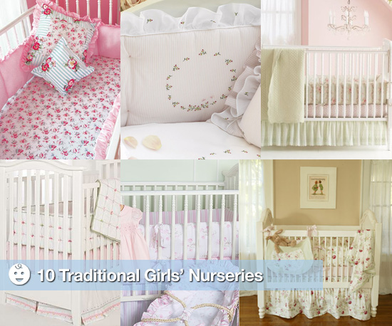 Traditional Girls' Nurseries