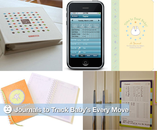 Feeding Journals to Track Baby's Every Move