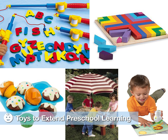 Toys to Extend Preschool Learning