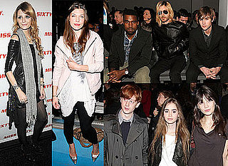 Photos of Kanye West, Jared Leto, Chase Crawford, Mischa Barton, Daisy Lowe and Milla Jovovich at New York Fashion Week