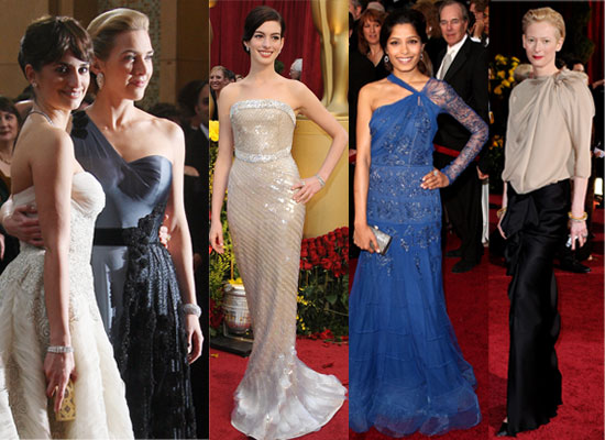 Photos Of Women From The Red Carpet At The 2009 Oscars, including Kate Winslet, Freida Pinto, Jennifer Aniston, Angelina Jolie