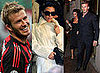 Photos of Victoria Beckham Watching David Beckham Playing For AC Milan
