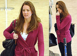 Photos of Kate Middleton at Geneva Airport After Skiing With Prince William