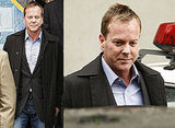 Photos of Kiefer Sutherland Who Turned Himself In to New York Police and Was Charged With Assault After Headbutting Allegation