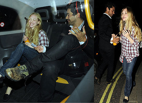 Photos Of Mamma Mia's Amanda Seyfried and Dominic Cooper Out On A Date In London, Laughing