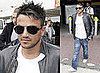 Photos of Peter Andre Who Is Back in the UK to Meet Katie Price Who Has Locked Him Out