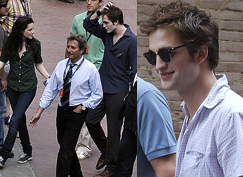 Photos Of Robert Pattinson and Kristen Stewart Filming Twilight's New Moon In Italy, After Yesterday's Shirtless Pictures