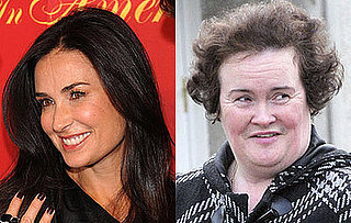 Roundup Of The Latest Entertainment News Stories — Demi Moore Will Fly to England to Support Susan Boyle at Britain's Got Talent
