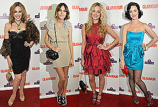 Photos of Kylie Mingogue, Alexa Chung, Fearne Cotton, Jenson Button, Ed Westwick at Glamour Women Of The Year Awards 2009