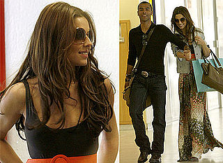 Photos Of Cheryl Cole and Ashley Cole At Heathrow Airport Flying To French Riviera