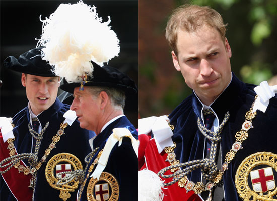 15/6/2009 Prince William and Royals at Order of the Garter