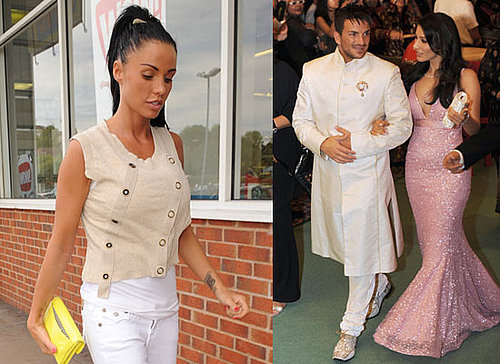 Photos of Katie Price Plus Peter Andre and Bollywood actress Sophie Chaudhary at 2009 International Indian Film Academy Awards