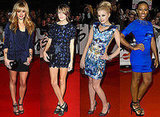 Blue Dresses at the 2009 Brit Awards