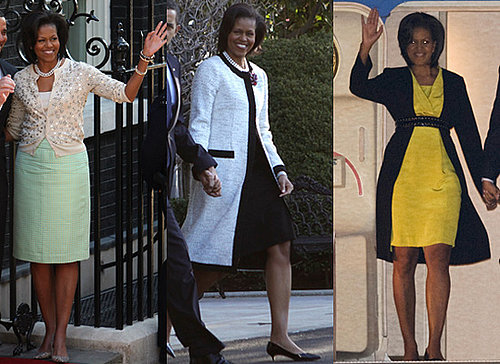 Fab Flash: Michelle Obama's UK Wardrobe