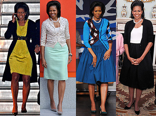 Michelle Obama in London Wardrobe