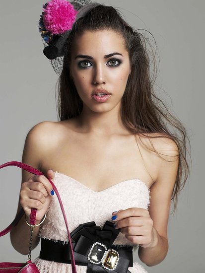 Amber le Bon RiverIsland Graduate Collection