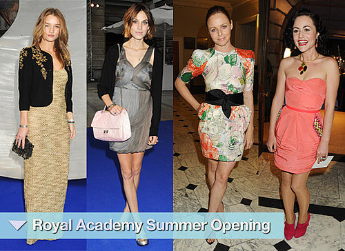 Photos of Celebrities at Royal Academy of Arts Summer Opening