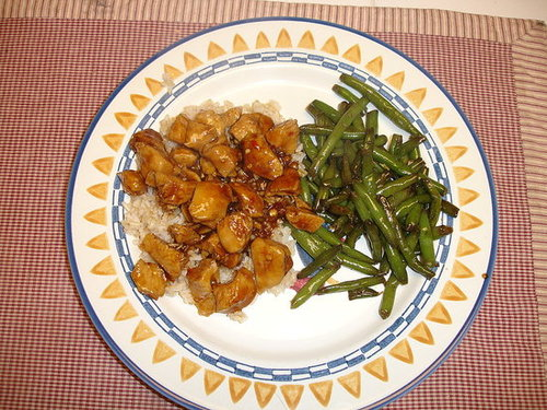 bourbon chicken without the bourbon