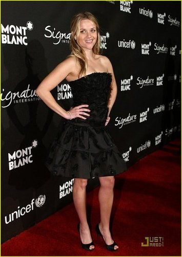 Reese Witherspoon @ Montblanc Signature for Good' Charity Initiative