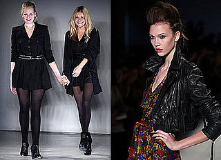Twenty8Twelve's Autumn 2009 Collection at London Fashion Week, Sienna Miller, Savannah Miller